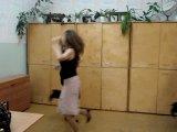 11 А))воспоминания о школе)репетиция танца к Новому Году 2007)